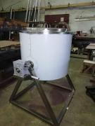 Барабанный смеситель для жидких и сыпучих продуктов