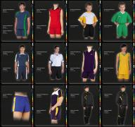 Korn - custom sports uniforms and clothing