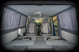 Тюнинг Внутренний Переоборудование обшивка салона volkswagen transporter T5 фолькс